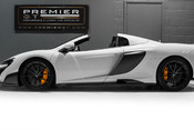 McLaren 675LT SPIDER. 3.8 V8. SSG CARBON FIBRE EXT PACK. CARBON FIBRE INT PACK FRONT LIFT 7