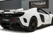 McLaren 675LT SPIDER. 3.8 V8. SSG CARBON FIBRE EXT PACK. CARBON FIBRE INT PACK FRONT LIFT 14