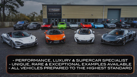 McLaren 675LT SPIDER. 3.8 V8. SSG CARBON FIBRE EXT PACK. CARBON FIBRE INT PACK FRONT LIFT 19