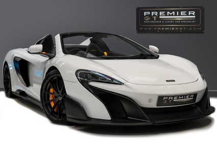 McLaren 675LT SPIDER. 3.8 V8. SSG CARBON FIBRE EXT PACK. CARBON FIBRE INT PACK FRONT LIFT