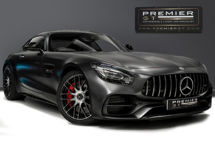 Mercedes-Benz Amg GT C EDITION 50. 1 OF 500. PREMIUM PACKAGE. DRIVING ASSIST PACK. BLACK CHROME.