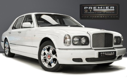 Bentley Arnage RED LABEL. 6.75 TURBO. CHROME BENTLEY WHEELS. LAMBSWOOL RUGS.