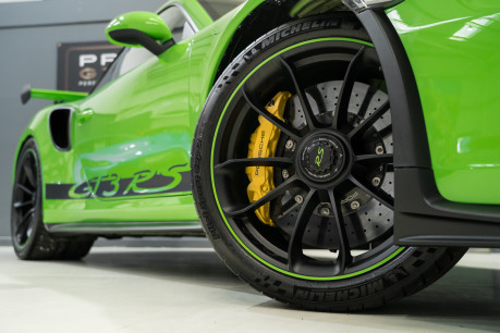 Porsche 911 GT3 RS. 4.0. PDK. LIZARD GREEN. PCCBs. FRONT AXLE LIFT. REAR CAM. FULL PPF. 23