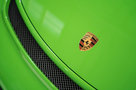Porsche 911 GT3 RS. 4.0. PDK. LIZARD GREEN. PCCBs. FRONT AXLE LIFT. REAR CAM. FULL PPF. 30