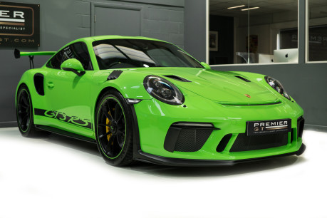 Porsche 911 GT3 RS. 4.0. PDK. LIZARD GREEN. PCCBs. FRONT AXLE LIFT. REAR CAM. FULL PPF. 34
