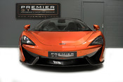 McLaren 570S SPIDER. V8 SSG.FRONT AXLE LIFT. FRONT END TOPAZ PPF. OVER £25K OF OPTIONS. 2