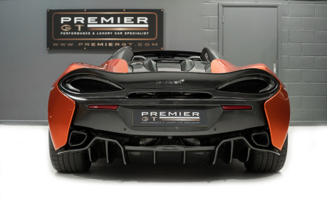 McLaren 570S SPIDER. V8 SSG.FRONT AXLE LIFT. FRONT END TOPAZ PPF. OVER £25K OF OPTIONS. 9