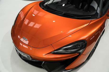McLaren 570S SPIDER. V8 SSG.FRONT AXLE LIFT. FRONT END TOPAZ PPF. OVER £25K OF OPTIONS. 26
