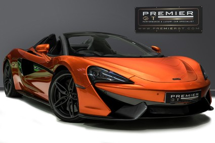 McLaren 570S SPIDER. V8 SSG. NOW SOLD, SIMILAR REQUIRED. PLEASE CALL 01903 254800