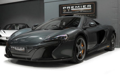 McLaren 650S LE MANS EDITION. 3.8 TWIN-TURBO V8. 1 OF 50. VERY LOW MILEAGE. NOSE LIFT 6