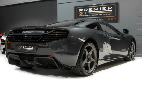 McLaren 650S LE MANS EDITION. 3.8 TWIN-TURBO V8. 1 OF 50. VERY LOW MILEAGE. NOSE LIFT 12