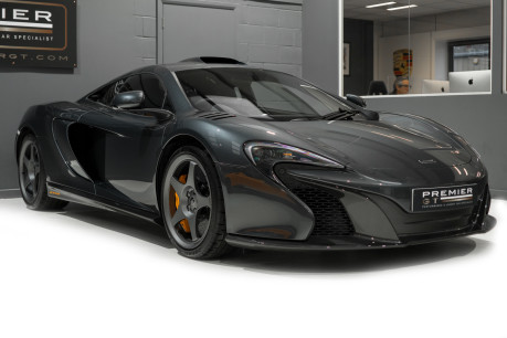 McLaren 650S LE MANS EDITION. 3.8 TWIN-TURBO V8. 1 OF 50. VERY LOW MILEAGE. NOSE LIFT 40