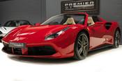 Ferrari 488 SPIDER. CARBON EXT & INT PACKS. PASSENGER DISPLAY. FRONT LIFT. REAR CAMERA. 3