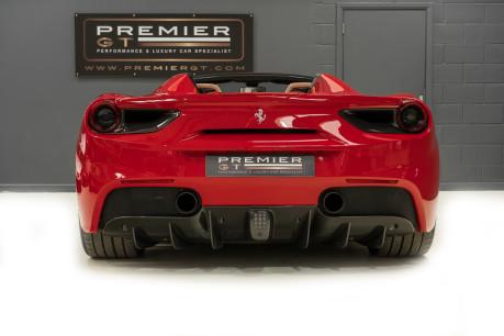 Ferrari 488 SPIDER. CARBON EXT & INT PACKS. PASSENGER DISPLAY. FRONT LIFT. REAR CAMERA. 7