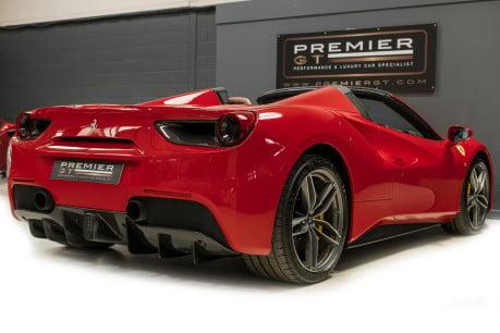 Ferrari 488 SPIDER. CARBON EXT & INT PACKS. PASSENGER DISPLAY. FRONT LIFT. REAR CAMERA. 8