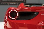 Ferrari 488 SPIDER. CARBON EXT & INT PACKS. PASSENGER DISPLAY. FRONT LIFT. REAR CAMERA. 12