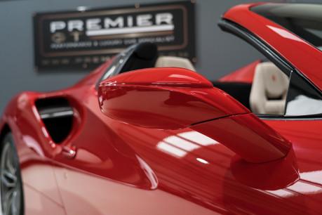 Ferrari 488 SPIDER. CARBON EXT & INT PACKS. PASSENGER DISPLAY. FRONT LIFT. REAR CAMERA. 21
