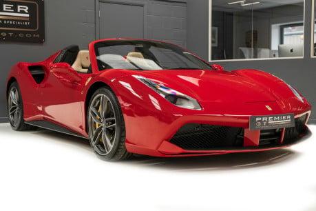 Ferrari 488 SPIDER. CARBON EXT & INT PACKS. PASSENGER DISPLAY. FRONT LIFT. REAR CAMERA. 28