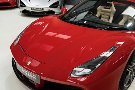 Ferrari 488 SPIDER. CARBON EXT & INT PACKS. PASSENGER DISPLAY. FRONT LIFT. REAR CAMERA. 29