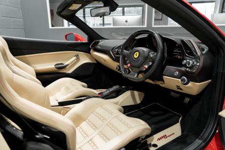 Ferrari 488 SPIDER. CARBON EXT & INT PACKS. PASSENGER DISPLAY. FRONT LIFT. REAR CAMERA. 33