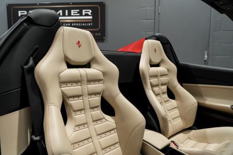 Ferrari 488 SPIDER. CARBON EXT & INT PACKS. PASSENGER DISPLAY. FRONT LIFT. REAR CAMERA. 35