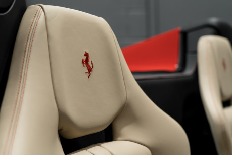 Ferrari 488 SPIDER. CARBON EXT & INT PACKS. PASSENGER DISPLAY. FRONT LIFT. REAR CAMERA. 36