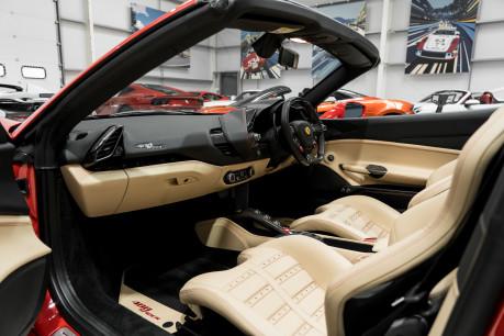 Ferrari 488 SPIDER. CARBON EXT & INT PACKS. PASSENGER DISPLAY. FRONT LIFT. REAR CAMERA. 37