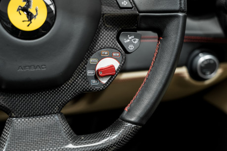 Ferrari 488 SPIDER. CARBON EXT & INT PACKS. PASSENGER DISPLAY. FRONT LIFT. REAR CAMERA. 52
