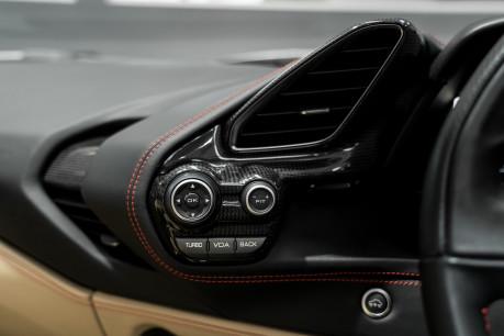 Ferrari 488 SPIDER. CARBON EXT & INT PACKS. PASSENGER DISPLAY. FRONT LIFT. REAR CAMERA. 54