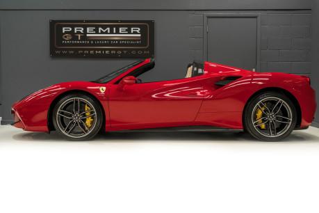 Ferrari 488 SPIDER. CARBON EXT & INT PACKS. PASSENGER DISPLAY. FRONT LIFT. REAR CAMERA. 4