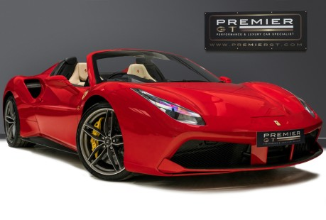 Ferrari 488 SPIDER. NOW SOLD. SIMILAR REQUIRED PLEASE CALL 01903 254 800 1