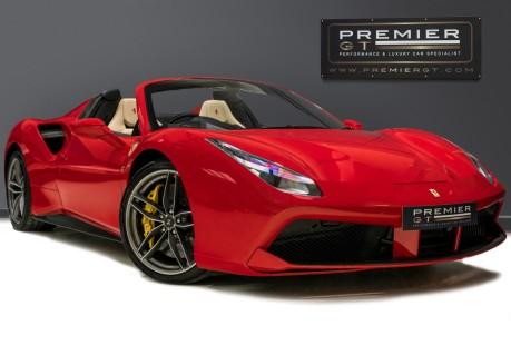 Ferrari 488 SPIDER. CARBON EXT & INT PACKS. PASSENGER DISPLAY. FRONT LIFT. REAR CAMERA. 1