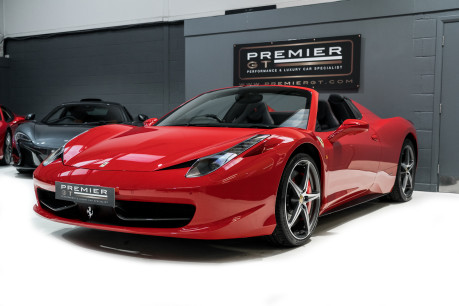 Ferrari 458 SPIDER. NOW SOLD, SIMILAR REQUIRED. PLEASE CALL 01903 254800 3