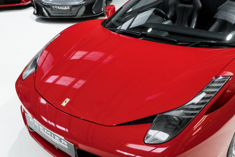 Ferrari 458 SPIDER. NOW SOLD, SIMILAR REQUIRED. PLEASE CALL 01903 254800 31