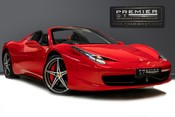 Ferrari 458 SPIDER. NOW SOLD, SIMILAR REQUIRED. PLEASE CALL 01903 254800
