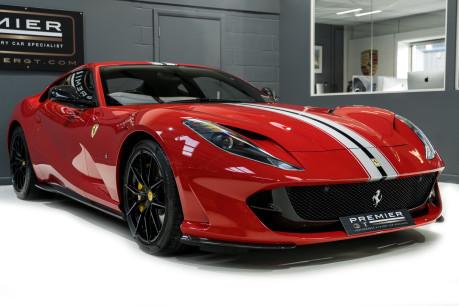 Ferrari 812 Superfast 6.5 V12. CARBON FIBRE DRIVER ZONE WITH LEDS. PASSENGER DISPLAY. FULL PPF. 32