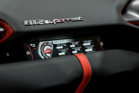 Ferrari 812 Superfast 6.5 V12. CARBON FIBRE DRIVER ZONE WITH LEDS. PASSENGER DISPLAY. FULL PPF. 55