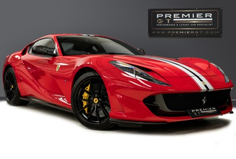Ferrari 812 Superfast 6.5 V12. CARBON FIBRE DRIVER ZONE WITH LEDS. PASSENGER DISPLAY. FULL PPF. 1