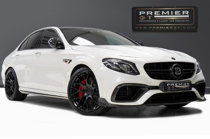 Mercedes-Benz E Class AMG E 63 S 4MATIC. BRABUS 700 CONVERSION. CARBON EXTERIOR. AMG DRIVERS PACK