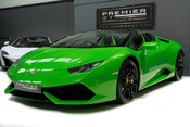 Lamborghini Huracan SPYDER. 5.2 V10. NOW SOLD, SIMILAR REQUIRED. PLEASE CALL 01903 254 800 3