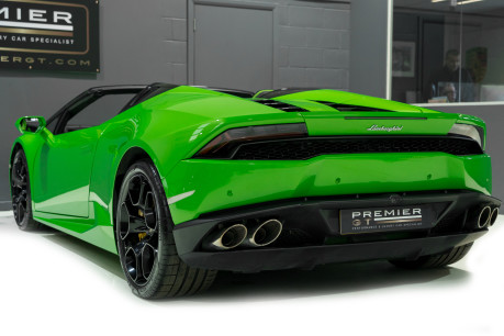 Lamborghini Huracan SPYDER. 5.2 V10. NOW SOLD, SIMILAR REQUIRED. PLEASE CALL 01903 254 800 7