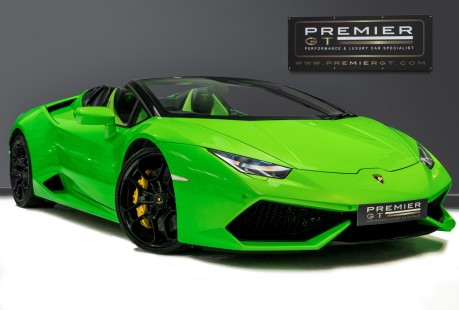 Lamborghini Huracan SPYDER. 5.2 V10. NOW SOLD, SIMILAR REQUIRED. PLEASE CALL 01903 254 800 1
