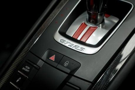 Porsche 911 GT2 RS PDK. WEISSACH + CLUBSPORT PACKS. ENORMOUS SPECIFICATION. 1 OWNER. 56