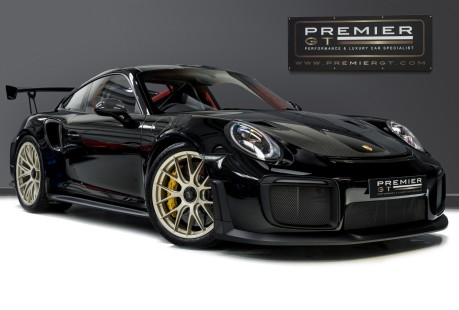 Porsche 911 GT2 RS PDK. WEISSACH + CLUBSPORT PACKS. ENORMOUS SPECIFICATION. 1 OWNER. 1