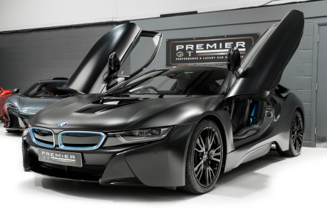 BMW I8 FROZEN BLACK PAINT. NOW SOLD, SIMILAR REQUIRED. PLEASE CALL 01903 254800 4