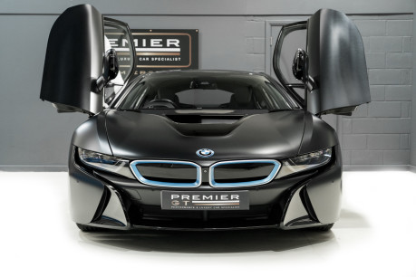 BMW I8 FROZEN BLACK PAINT. NOW SOLD, SIMILAR REQUIRED. PLEASE CALL 01903 254800 3
