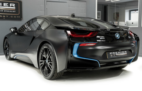 BMW I8 FROZEN BLACK PAINT. NOW SOLD, SIMILAR REQUIRED. PLEASE CALL 01903 254800 8