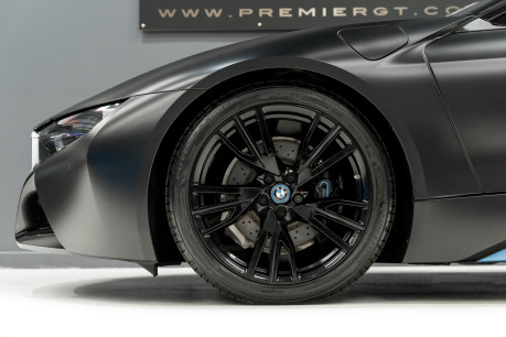 BMW I8 FROZEN BLACK PAINT. NOW SOLD, SIMILAR REQUIRED. PLEASE CALL 01903 254800 7