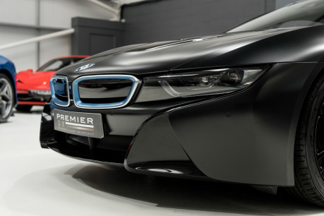 BMW I8 FROZEN BLACK PAINT. NOW SOLD, SIMILAR REQUIRED. PLEASE CALL 01903 254800 29