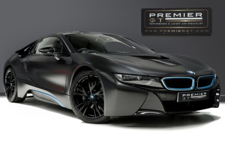 BMW I8 FROZEN BLACK PAINT. NOW SOLD, SIMILAR REQUIRED. PLEASE CALL 01903 254800 1